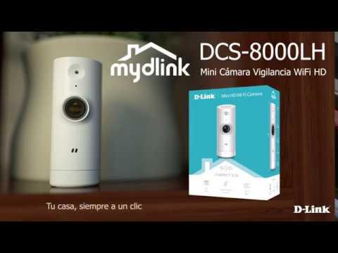 D-Link DCS-8000LH Review – Cámara IP WiFi de vigilancia con Acceso Desde móviles