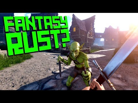 A RUST FANTASY VERSION?? | Moss, a 'possible' NEW medieval RUST