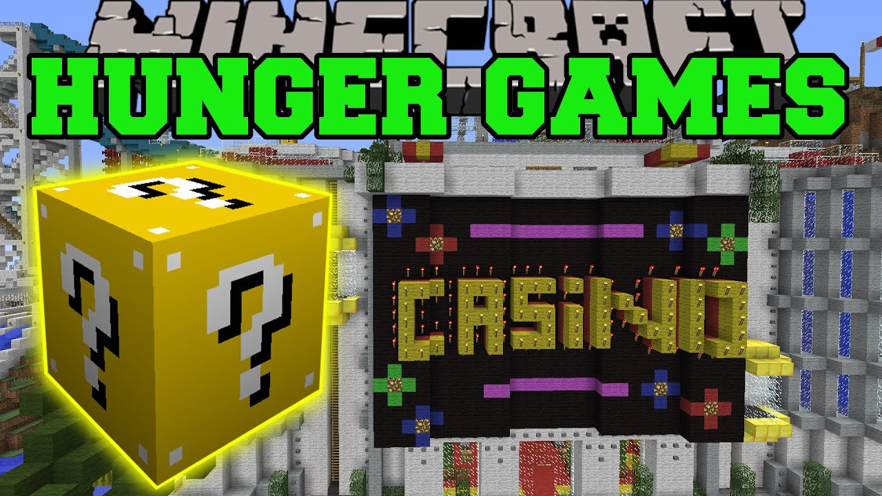 Minecraft CASINO ISLAND HUNGER GAMES LUCKY BLOCK MOD Modded Mini Game YouTube