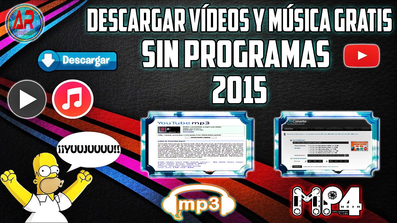 youtube descargar videos mp4 & mp3 musica gratis + convertidor