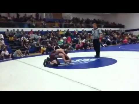 Kyle kobza pins kid in 45 seconds