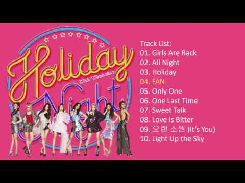 [Full Album] Girls' Generation 소녀시대 – Holiday Night