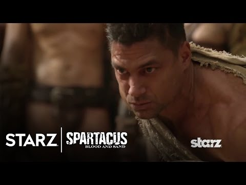 Spartacus | Blood and Sand - A Lesson from the Champion of Capua | STARZ