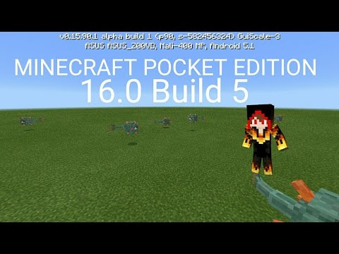 SHOWCASE Minecraft PE v16.0 Build 5