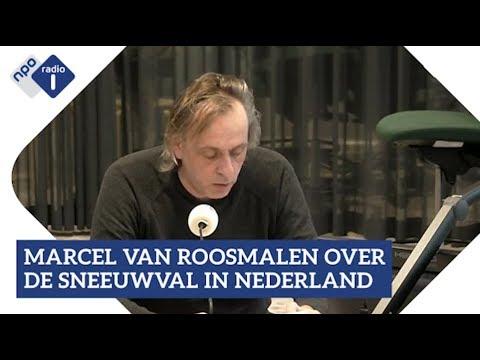 Marcel van Roosmalen over de sneeuwval in Nederland   NPO Radio 1
