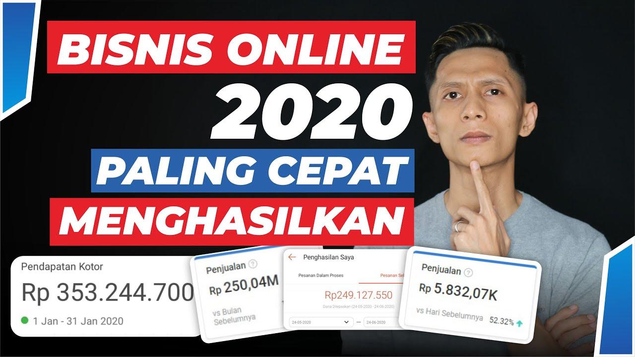 Ide Peluang Bisnis Online Usaha Online 2020 Youtube