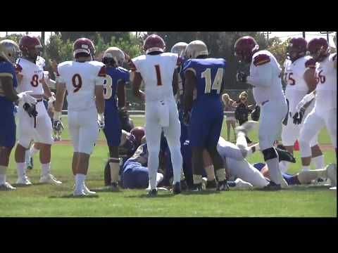 Pasadena City vs. Allan Hancock College Football