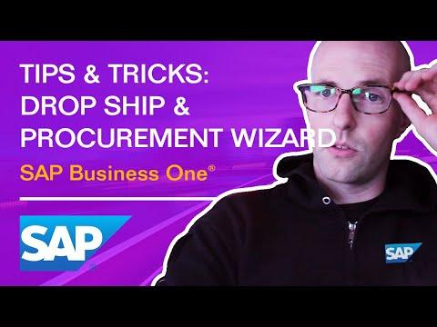 SAP Business One: Tips & Tricks: Drop Ship & Procurement / Production Scenarios