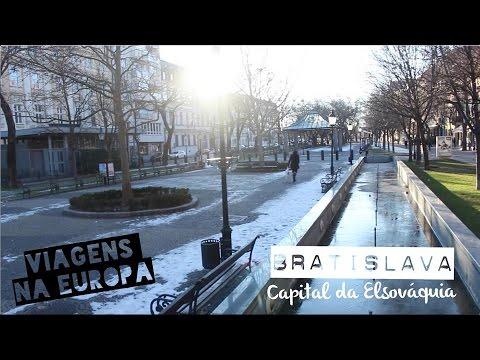#53 Diário de Intercâmbio: Bratislava, a capital da Eslováquia!