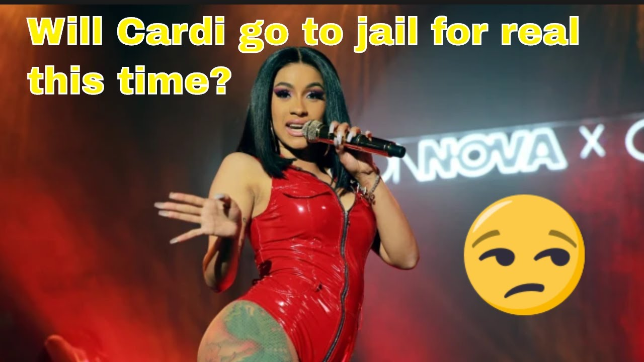 Cardi B indicted - for real