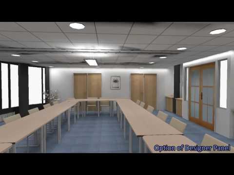 LiteLite.co.uk - Birmingham Metropolitan College  Full Walkthrough - RELUX Lighting Design
