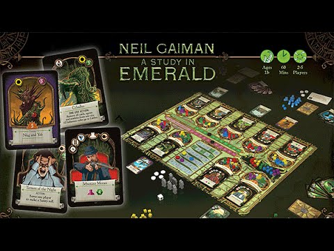 Study in Emerald and other board games: Game/Life Balance U.S. Podcast
