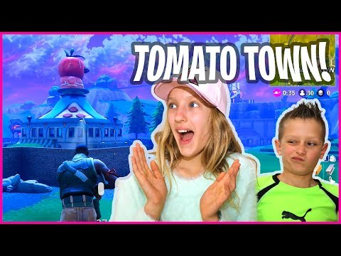 Going to Tomato Town - Fortnite with RonaldOMG