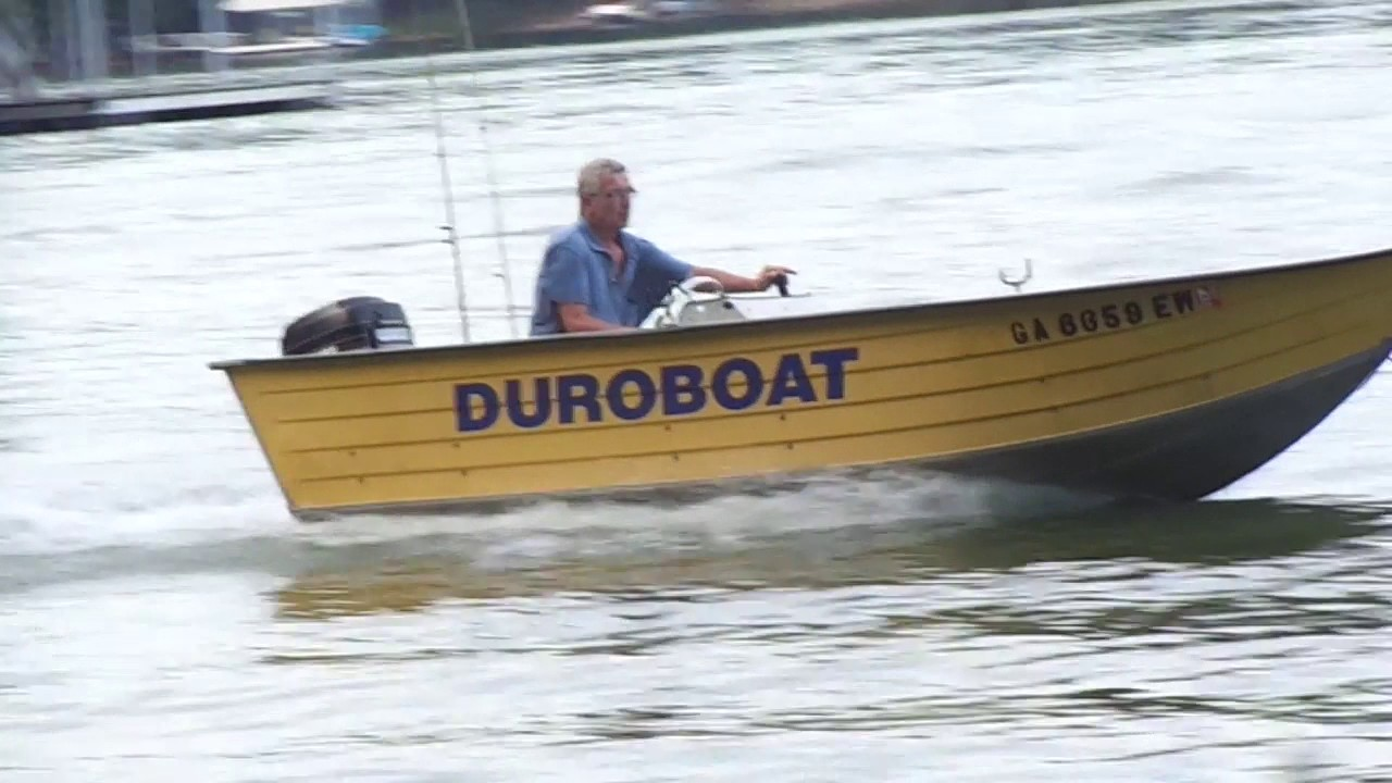 Mercury 35 hp on 16ft V hull