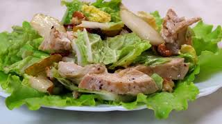 Потрясающий салат ! Съедается сразу.Рецепты Алины.