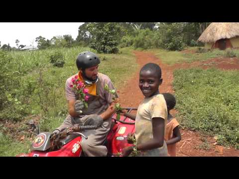 QUAD BIKING AND TRAVELLING IN UGANDA with OffTheShoulderTV T