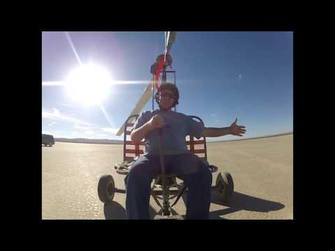 Richard on the Gyro Glider