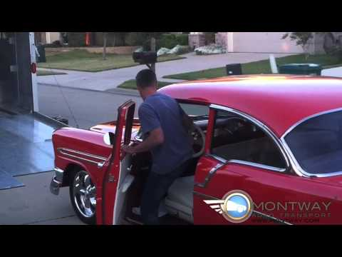 Picking up a Classic 1956 Chevy Bell Air | Montway Auto Transport