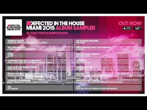 Defected In The House Miami 2015 - Album Sampler