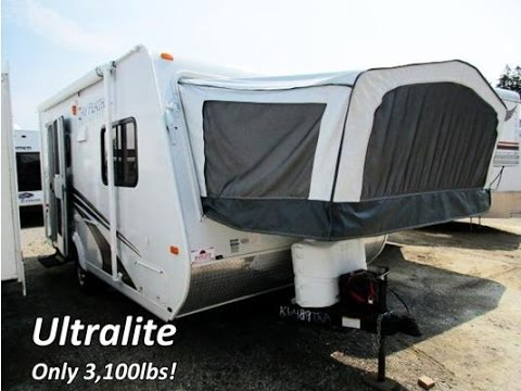 Haylettrv 2017 Jay Feather Ultralite X17z Used Hybrid Travel Trailer By Jayco Rv