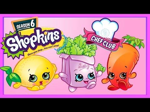 More Shopkins Season 6 Chef Club  | Color...