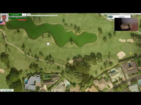 Action! PC Golf 1993 Season: Hawaiian Open @ East Honolulu CC (Round #4)