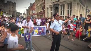 Gentse Feesten 2014 dag1 Opening en Parade AVS