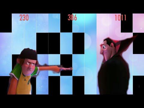 DJ Battle (Hotel Transylvania 3) In Piano Tiles 2 !!!
