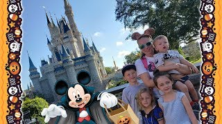 Kinder Playtime Halloween Disney World Trip Vlog Not So Scary Family Friendly Videos for Kids
