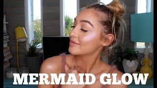 Mermaid Makeup | Trying out Holographic Highlighters