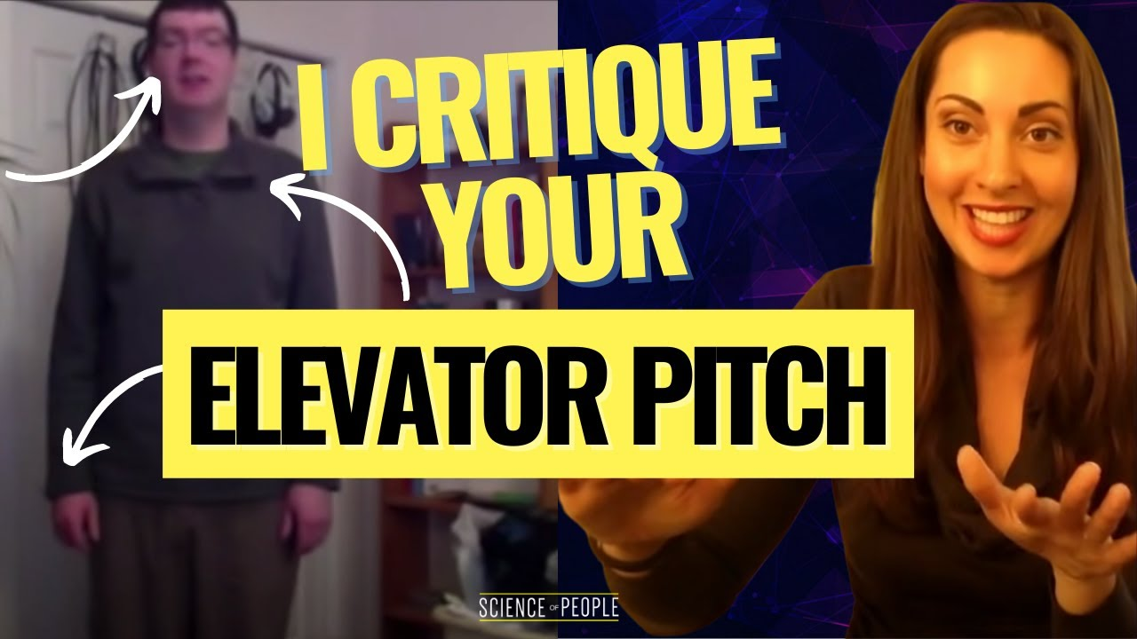 The Best Elevator Pitch - YouTube