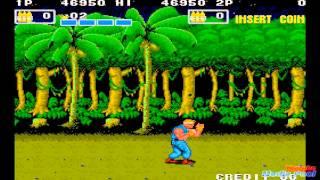 1988 P.O.W.: Prisoners of War (Arcade) Game Playthrough Retro game