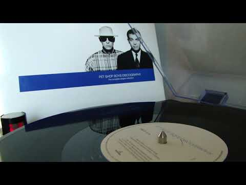 Pet Shop Boys – Complete A Side [ Discography (The Complete Singles Collection) LP ]