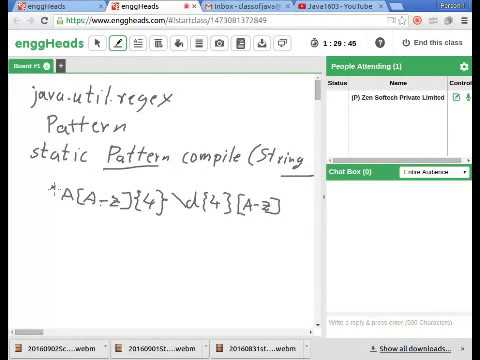Java Using Pattern And Matcher YouTube Amazing Java Pattern Compile