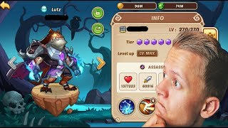 HE IS BECOMING A GOD - SEASONAL DAY 8 - IDLE HEROES PS