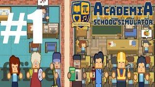 OKUL YAPMA SİMULATOR / Academia School Simulator Türkçe - Bölüm 1