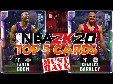 TOP 5 MUST HAVE CARDS IN NBA 2K20 MYTEAM