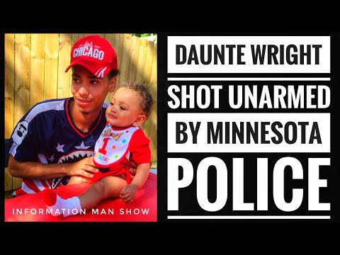 Daunte Wright Shot Fatally By Minnesota Police Who Shouted 'Taser But Fired A Gun