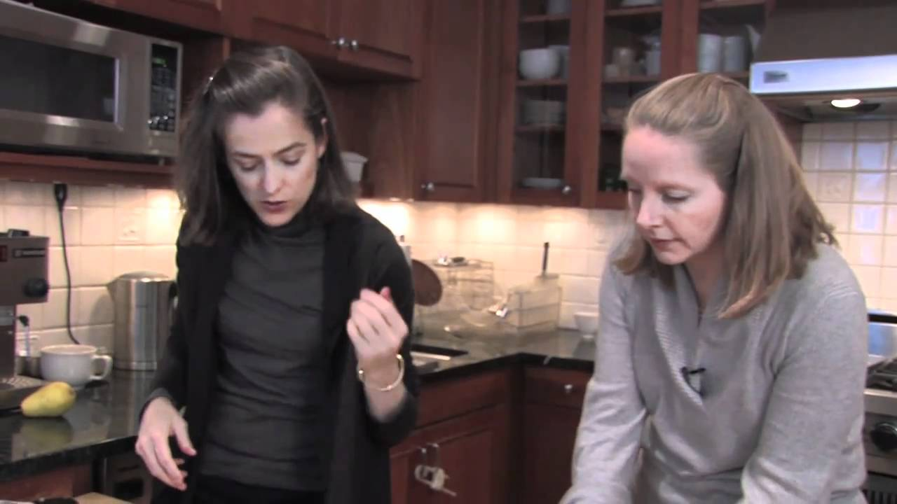 Your Best Open House Dish: Cocoa Pear Crisps - YouTube