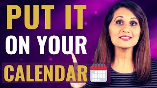 Calendar Blocking (How to Schedule Time for Videos)