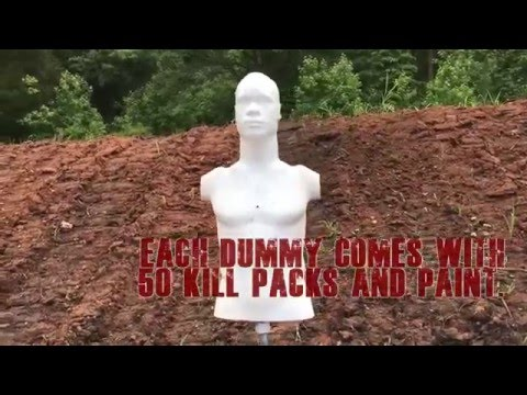 Rubber Dummies - Now For Sale at ShootingStrategies.com!