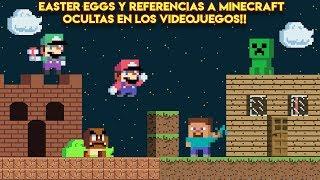 Easter Eggs y Referencias a Minecraft Ocultas en los Videojuegos - Pepe el Mago