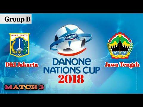 Aqua Danone Nation Cup 2018 | Penyisihan Group B : DKI Jakarta vs Jawa Tengah #Match3