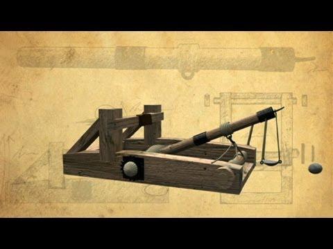 Mangonel Siege Artillery - Battle Castle with Dan Snow