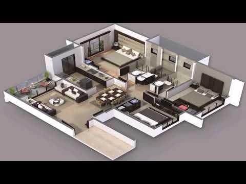 3 Bedroom 2 Bathroom Home Plans