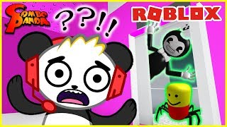 DON'T CHOOSE THE WRONG DOOR IN ROBLOX! Let's Play Hmm with Combo Panda