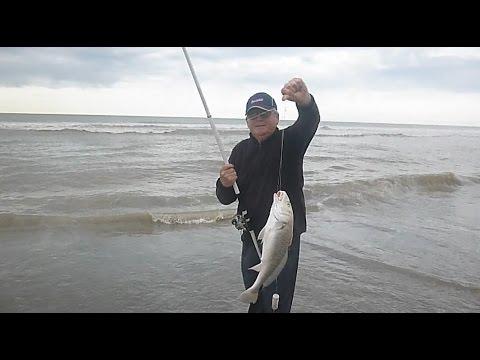 Pesca de Corvinas y Variada en el Corvinero Bahía San Blas 11 de Octubre de 2016
