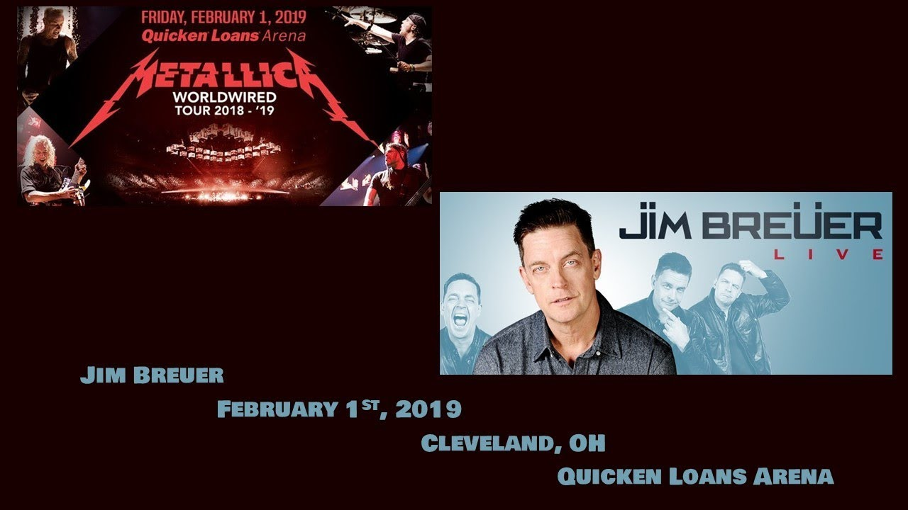 Jim Breuer - February 1st, 2019 - Cleveland, OH - Quicken Loans Arena