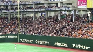 2017.6.3 会場 東京ドーム 対読売ジャイアンツ 歌詞 【前奏後:岡田!(×...