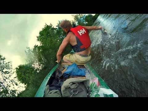 River Wye, canoe camping, 4 day paddle from Glasbury to Hereford